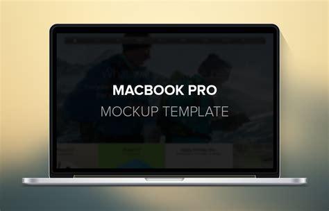 Macbook Pro Template macbook pro mockup template freebies gallery