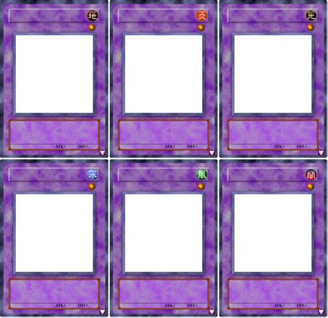 yugioh card template photoshop fusion templates by hellbond on deviantart
