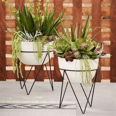 plant stand style   modern twist
