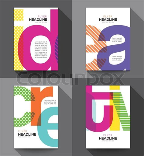 design a5 flyer online creative brochure flyer design vector template in a5 size