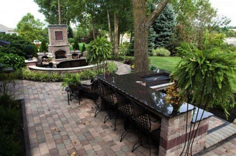 Patio Designs Using Pavers Patio Design Ideas Using Concrete Pavers For Big Backyard Style Gogo Papa