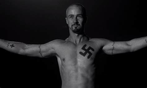 american history x tattoos most memorable tattoos featured in geektyrant