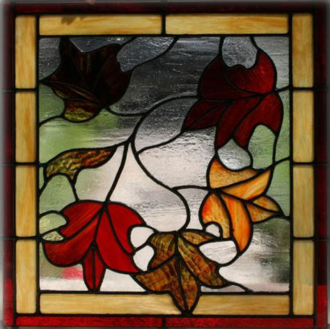 leaf pattern for stained glass 1000 images about stained glass on pinterest