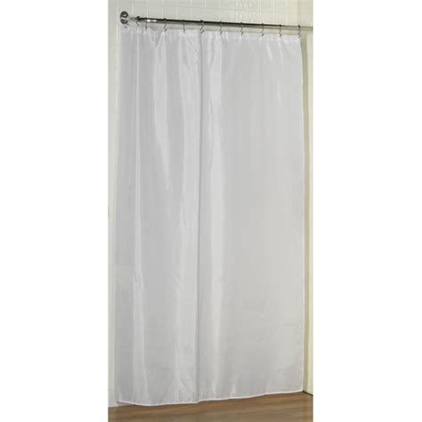 What Size Are Shower Curtains by Carnation Home Fashions Stall Size Polyester Shower