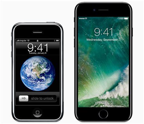 water test iphone 2g vs iphone 7 iphone italia