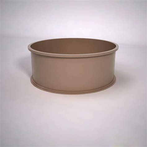 Circular Planter by Planter Pots Commercial Low Bowl Planters