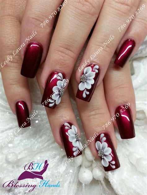 fotos uñas acrilicas navideñas m 225 s de 25 ideas incre 237 bles sobre u 241 as decoradas rojas en
