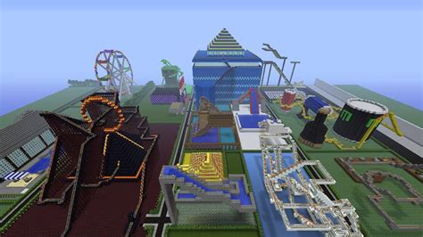 minecraft theme park xbox 360 the gallery for gt minecraft amusement park xbox 360