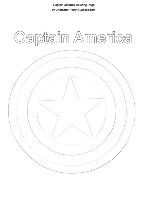 captain america shield template captain america shield coloring pages captain america
