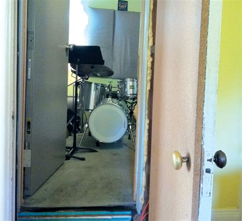 soundproof drum room diy build your own soundproof home studio drum