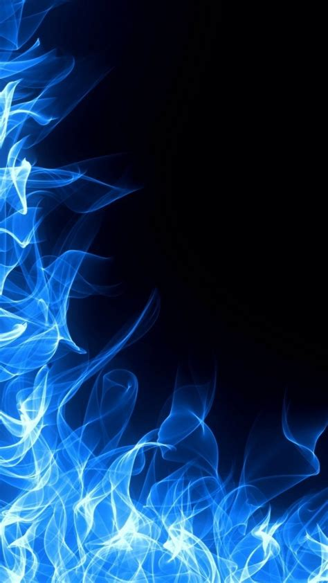 blue fire iphone wallpaper beautiful blues telefon