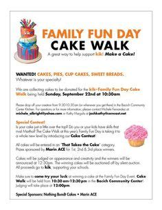 printable numbers for cake walk we could do cupcakes it would be a great prize cake walk
