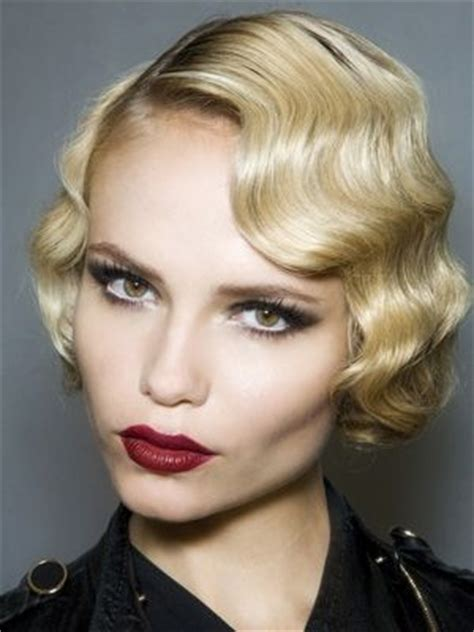 1920s hair styles with s wave curler san francisco ca 1920s art deco look with pin curls beautiful makeup