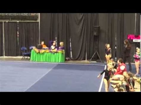 9 85 level 3 floor routine gymnastics