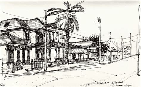 art design new orleans magazine lance gilmour urban design urban sketches