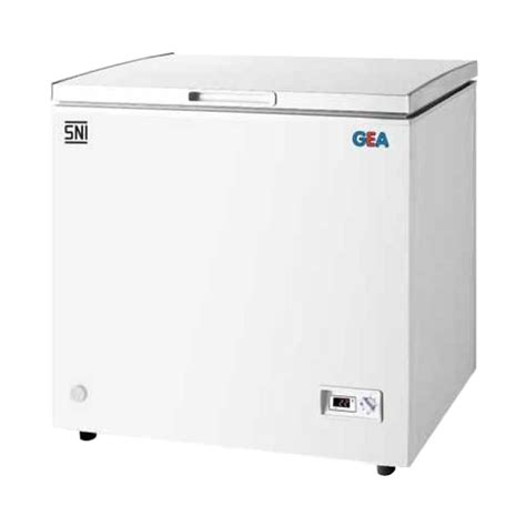 Freezer Gea 200 Liter jual gea ab 100 chest freezer 100 l putih