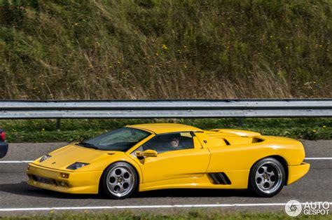 Lamborghini Diablo Roadster Lamborghini Diablo Vt Roadster 7 October 2015 Autogespot