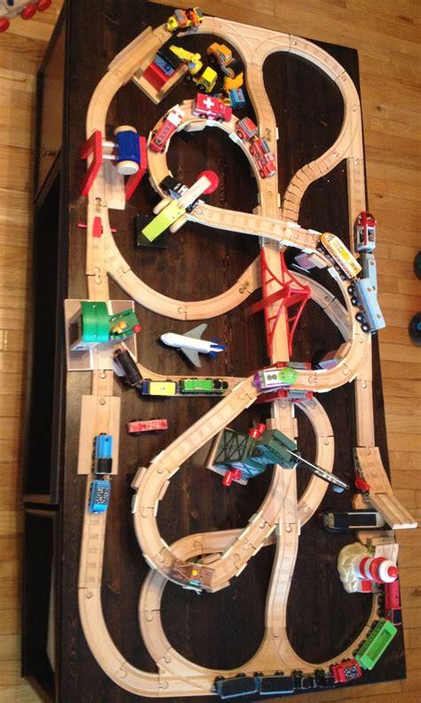brio train track designs wooden train track design train pinterest