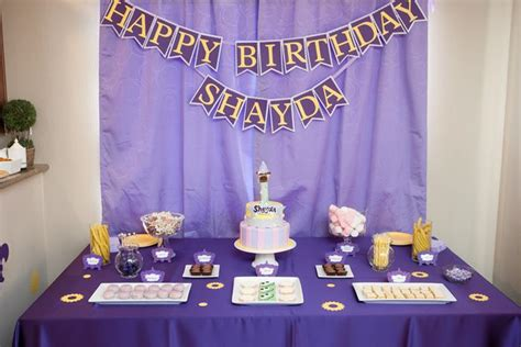 Ideas For Birthday Decoration At Home by Kara S Party Ideas Tangled Birthday Party Planning Ideas