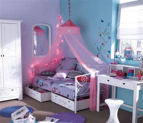 chambre bleu fille une chambre de fille bleue