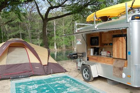 Coleman Travel Trailers Floor Plans by Converted Cargo Trailers To Campers Autos Post