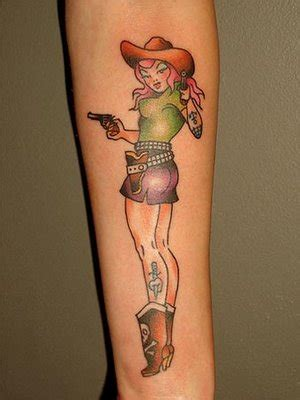 pin up tattoo tattoos bezz march 2013