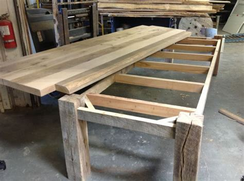how to a reclaimed wood table best 25 reclaimed wood tables ideas on