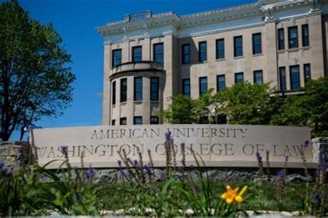Llm Mba American by American Au Washington College Of Wcl