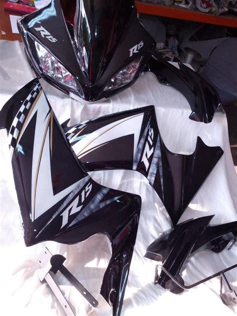 Fairing Custom R25 For Vixion Black White Energy sticker kit for a yamaha r15 studio design gallery