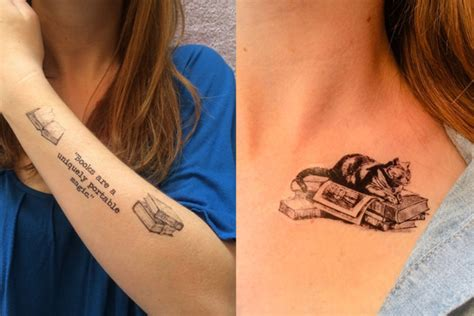36 perfect book tattoos every book lover can resonate with