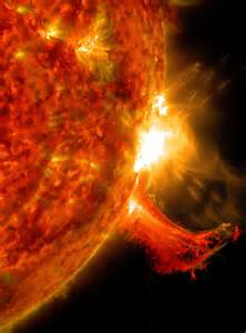 Incredible solar flare video captured by nasa spacecraft