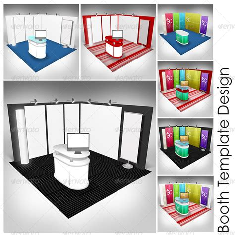 booth layout design software booth template part 1 by shamcanggih graphicriver