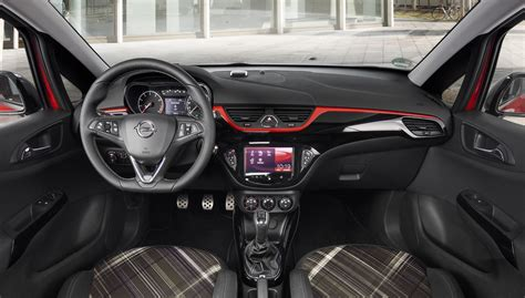 opel corsa interior 2015 opel corsa e gm authority