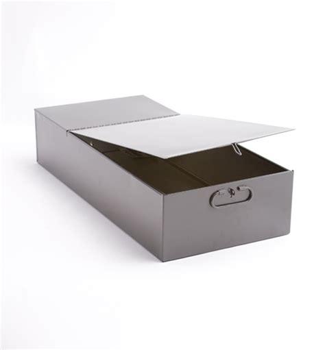 Safety Deposit Box bond box for 3 quot x 10 quot safe deposit boxes metal
