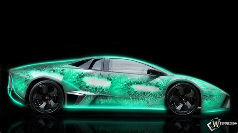 Coole Autos Lamborghini by Hd Wallpaper Neon Cool Wallpapers Lamborghini Colors Hd