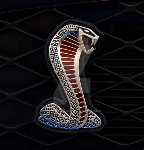Emblem Cobra Mustang Shelby Kecil Diskon shelby cobra emblem by darkintuition on deviantart