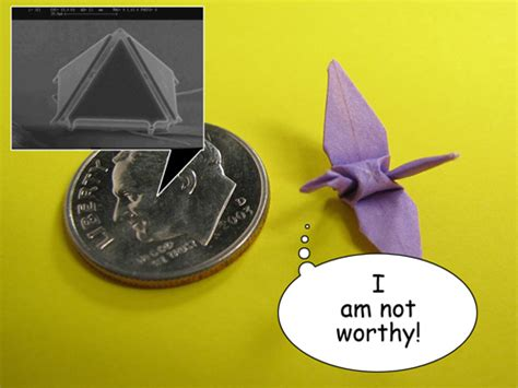 When Was Origami Invented - micro origami puts miniature paper crane folders to shame