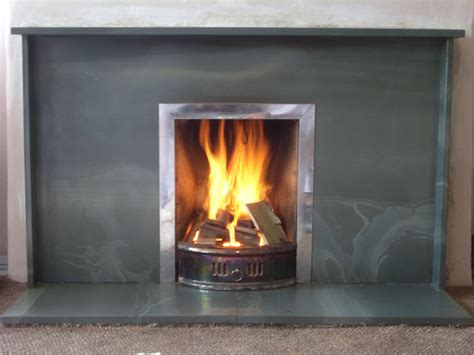 Hearth Fireplaces by Fireplaces And Hearths Saddleback Slate