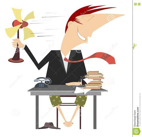 l amour dans le bureau la chaleur dans le bureau illustration de vecteur image