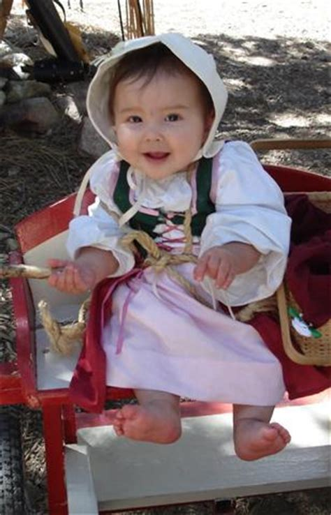 renaissance child (baby) peasant