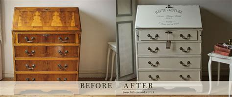 shabby chic bureau no 8 touch the wood