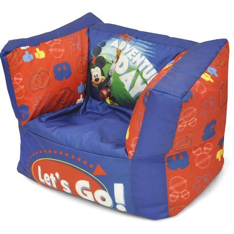 minnie mouse bean bag chair kmart mickey mouse toddler bean bag sofa chair refil sofa