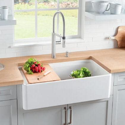 blanco profina  single bowl farmhouse apron sink white