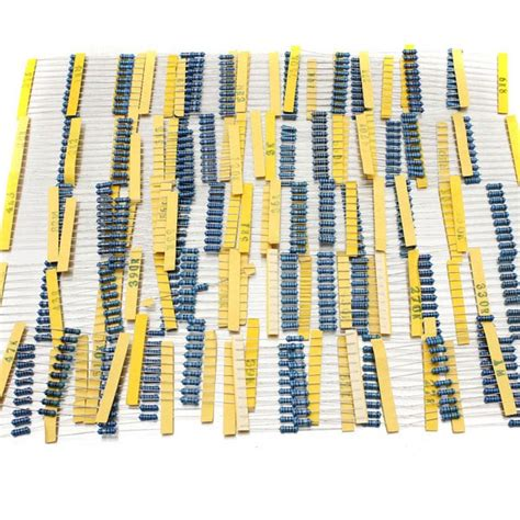 metal resistor chart 1 2w metal resistor kit 28 images 50 value 2w metal resistors kit 250pcs 1 500pcs 1 2w