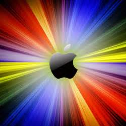 multi colored multi colored apple logo wallpaper ipadflava