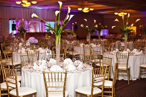 White Dining Room Chair Covers wedding reception ideas chiavari chairs as decor