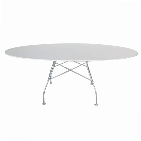Glen Oliver L 246 W Quot Glossy Quot Dining Table By Kartell At 1stdibs Kartell Dining Table