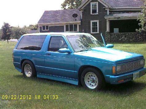 Blazer St Pro Sell Used 1985 Chevy S 10 Blazer Pro Truck In Haverhill Massachusetts United States