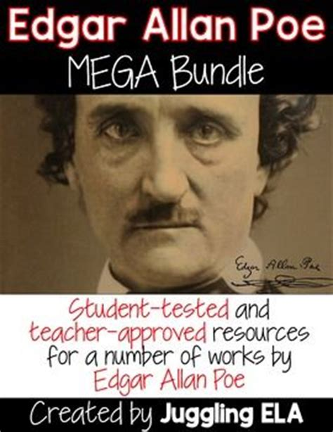 edgar allan poe biography questions edgar allan poe teaching materials and this money on