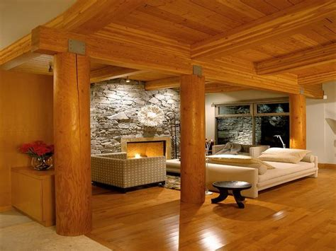 26 wonderful log house interior design rbservis